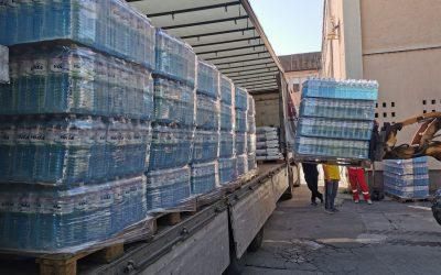 Donacija vode za bolnicu obolelima od Covida